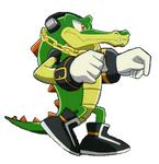 Vector sprites - Walking GIF (Sonic X version)