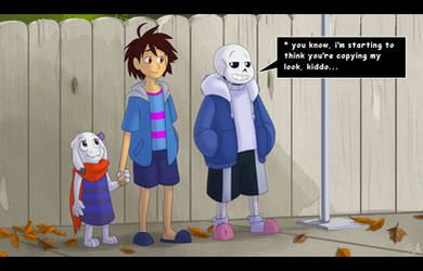 Undertale - a second Sans by TC-96