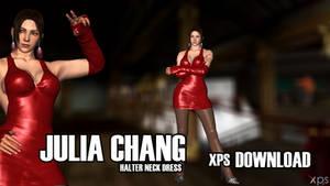 Julia Chang - Halterneck Dress