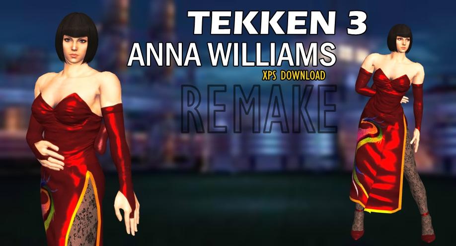 Anna Williams - Tekken 3 |REMAKE by Changinformatica on