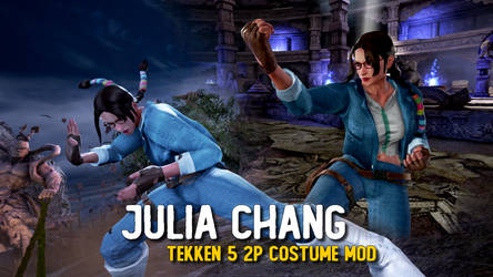 Julia Chang - Tekken 5 (2P COSTUME for TEKKEN 7)
