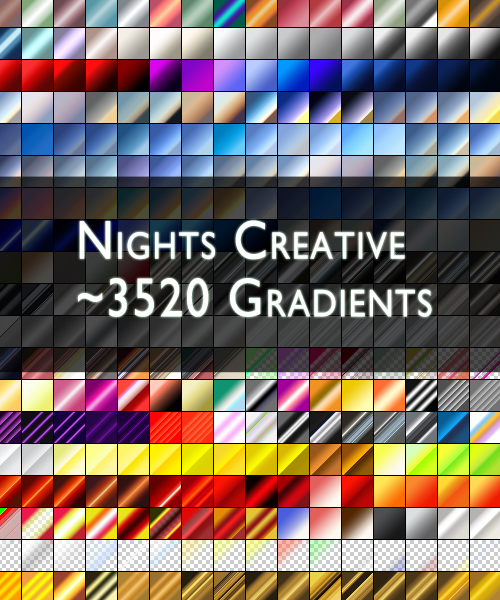 NCreative 3520 PS Gradients