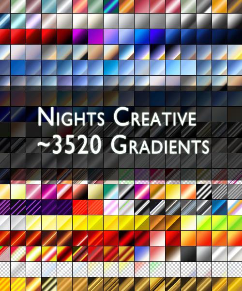 NCreative 3520 PS Gradients by NightsCreative