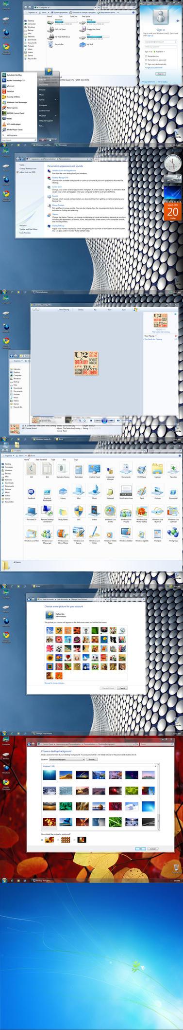 Windows 7 AIO Essentials Pack by Ka-Booka