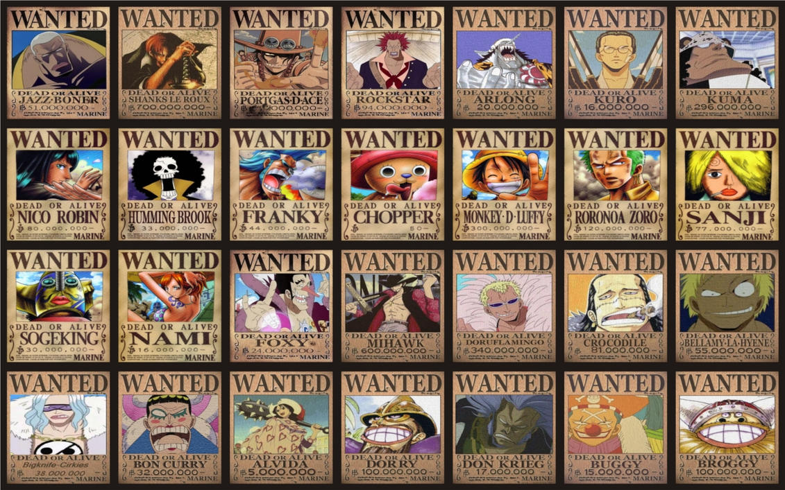 one piece wallpapers wanted - photo #27