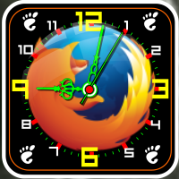 FireFox-clock by dewman12