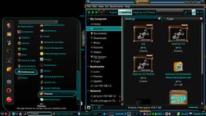 AzyCraz-3.0 Gtk and Cinnamon Theme