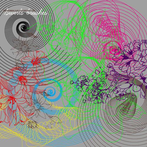 Transparent Swirls