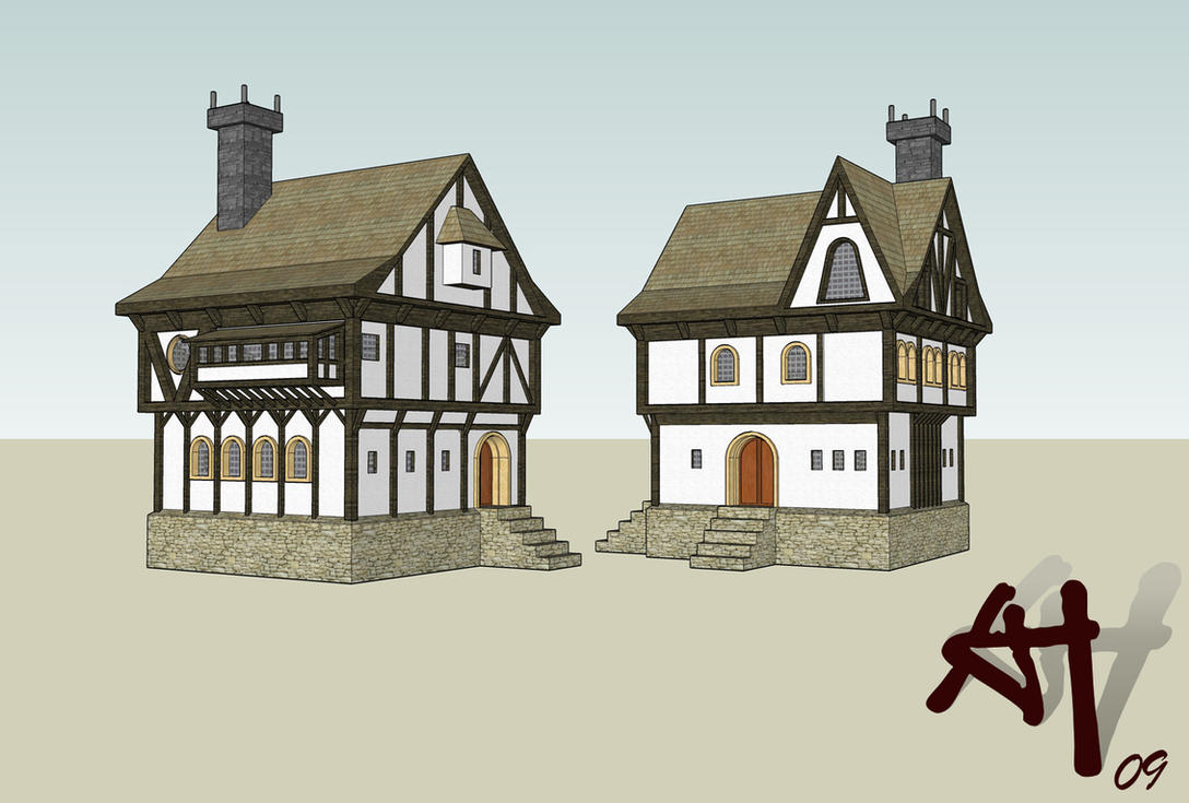 Medieval Town House Gsu By Deathfromabove86 On Deviantart