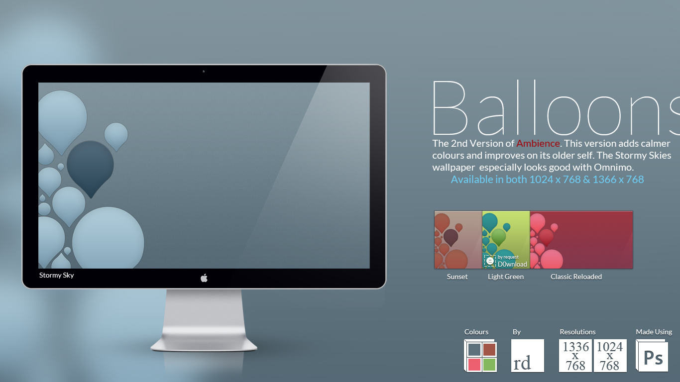 Balloons Wallpaper Pack by RDTSOD