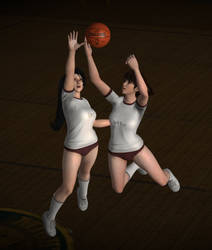 Pose - Momiji Block and Leifang Lay Up