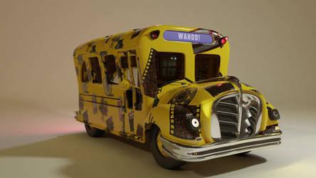 Magic School Bus Turn Table