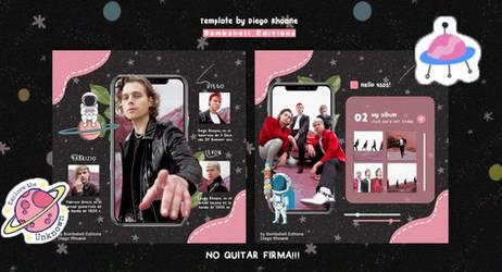 Template (5Sos)  by Diego Rhoane (Bombshell Editio