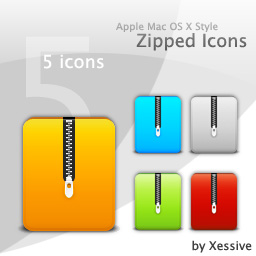 Zipped Icons By Xsv On Deviantart