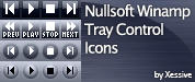 XSV Tray Control Icons by XSV