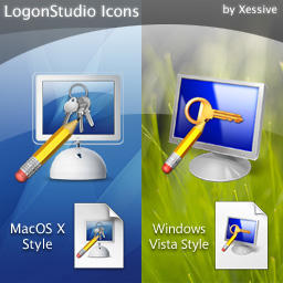 LogonStudio Icons by XSV