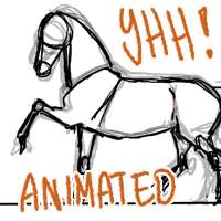 Animated YOUR HORSE HERE - CLOSED by Shotechi