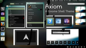 Axiom - Gnome Shell Theme