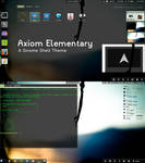 Axiom Elementary - Gnome Shell Theme