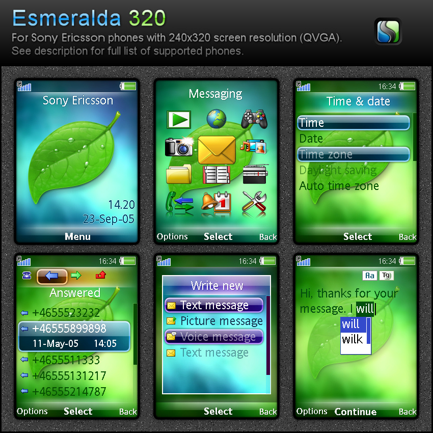 Esmeralda 320