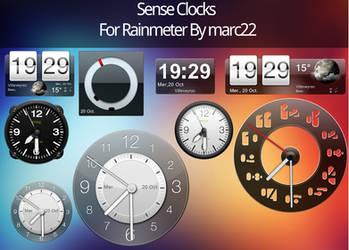 HTC sense clocks by marcarnal