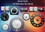 HTC sense clocks