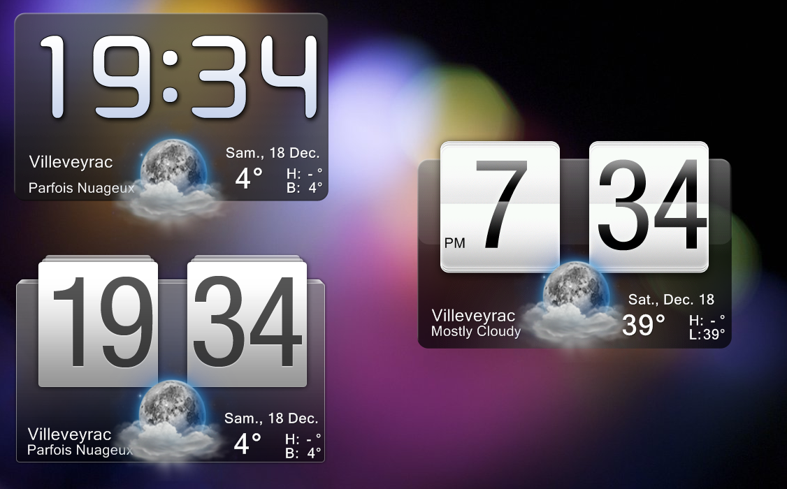 Unlike regular apps widgets can not