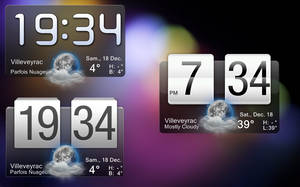 Fancy Widget for rainmeter by marcarnal