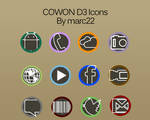 Cowon D3 Icons Style