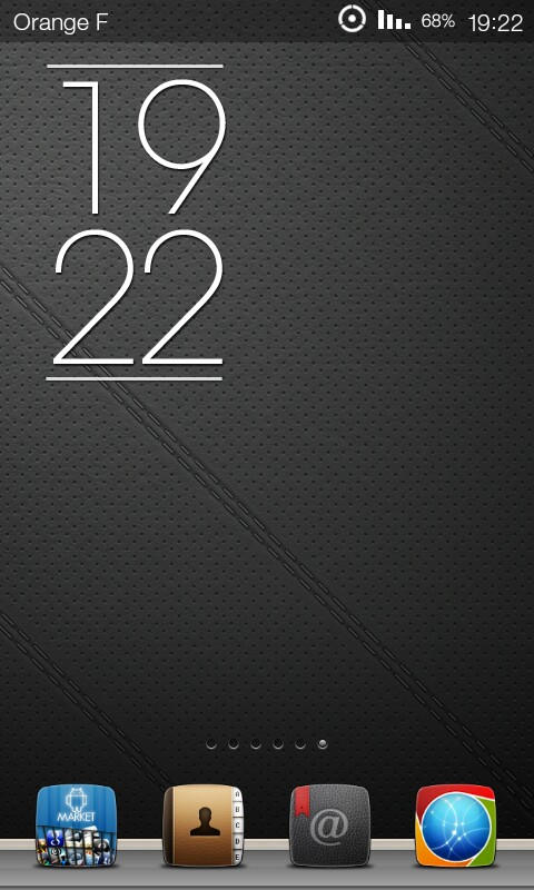 Elegance Clock For MIUI ROM by marcarnal