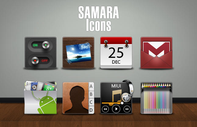 SAMARA Icons by marcarnal