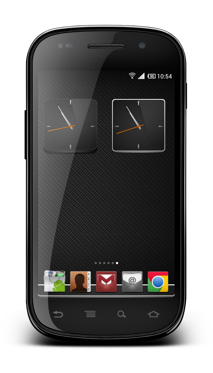 Jaku Clock For MIUI by marcarnal