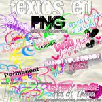 Textos en PNG de Miley