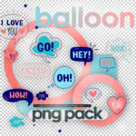 Ballons - png pack