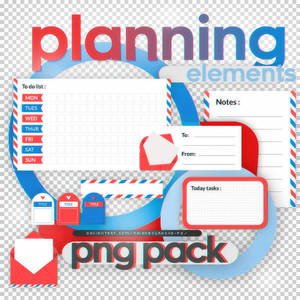 Planning Elements - png pack