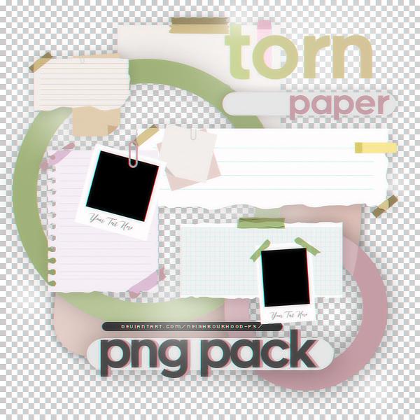 Torn Paper Png Pack By Neighbourhood Ps On Deviantart