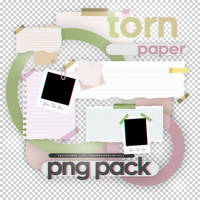 Torn Paper - png pack