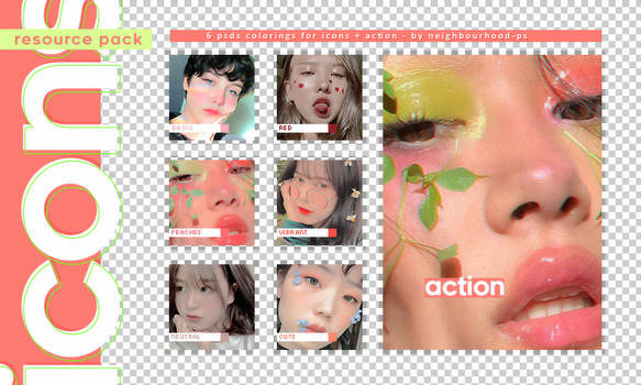 Colorings + Action