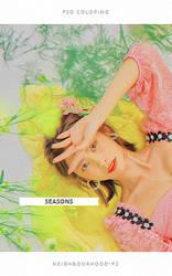 Seasons  - psd coloring