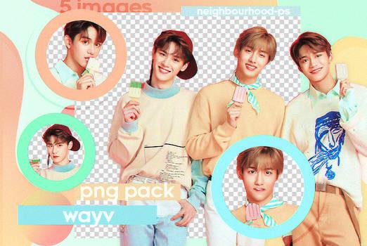 Wayv - Png Pack