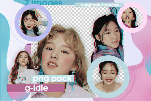 Gidle - Png Pack