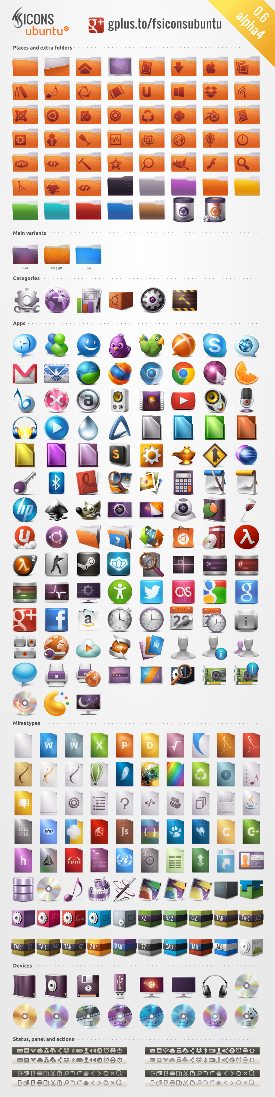 FS Icons Ubuntu by franksouza183