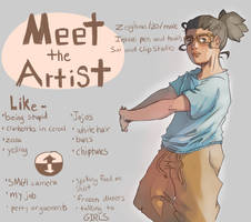 Meet the Artist! by Zeighous