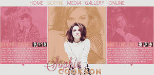 Sophie Cookson PSD header by Efruse