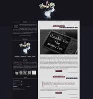 Blog design for G-Portal sites 001# by Efruse