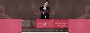 Brendon Urie PSD header by Efruse