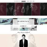fansite header pack 001# by Efruse