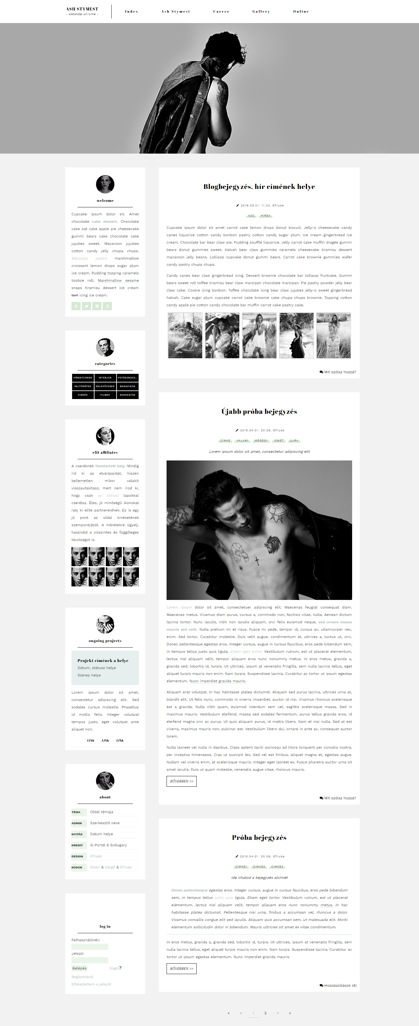 0002# free G-Portal layout with Ash Stymest by Efruse