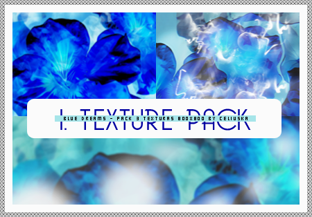Pack de textures - Blue Dreams #001 by Celiuska