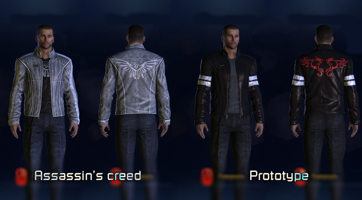 Cross-over N7 jacket (Assassin's creed/Prototype) by subject-zero-ru